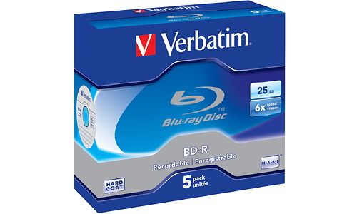 Verbatim BD-R 6x LTH Jewel case