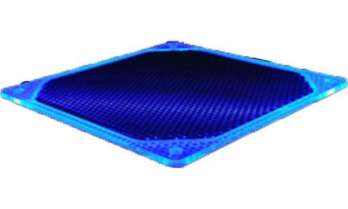 Bitspower Alumino Mesh Fan Grill 120mm UV Blue/black