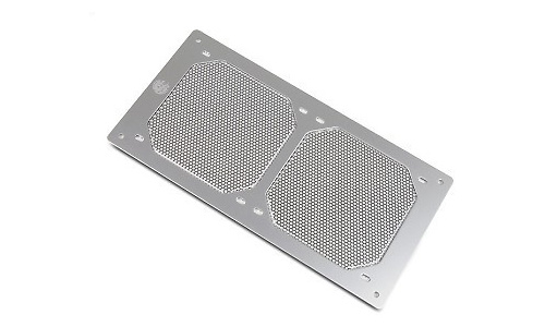 Bitspower Radgard 240 Aluminium Silver