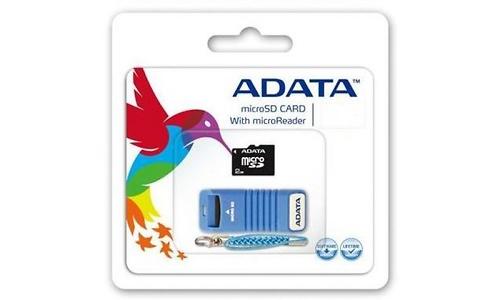 Adata MicroSDHC 4GB + Microreader