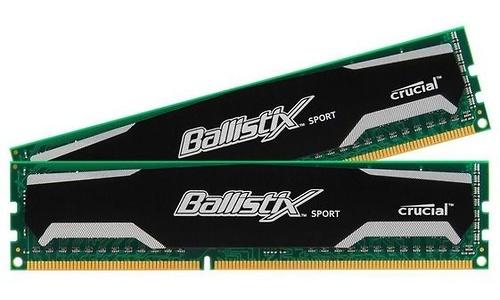 Crucial Ballistix Sport 8GB DDR3-1600 CL9 kit