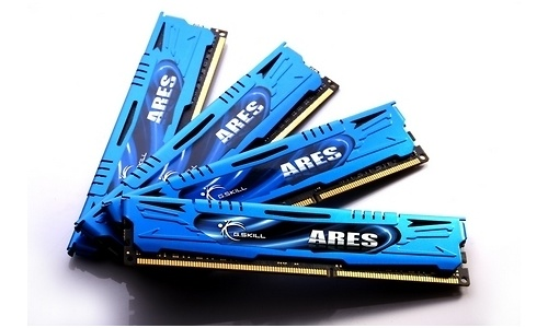 G.Skill Ares 16GB DDR3-2133 CL9 quad kit