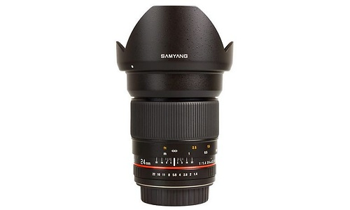 Samyang 24mm f/1.4 (Samsung NX)
