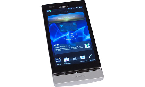 Sony Xperia P LT22i Silver