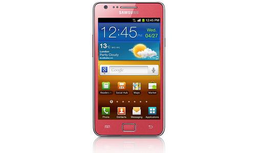 Samsung Galaxy S II Pink
