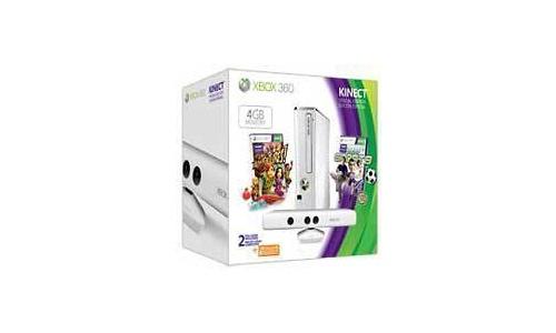 Microsoft Xbox 360 4GB Kinect Sports Pack White