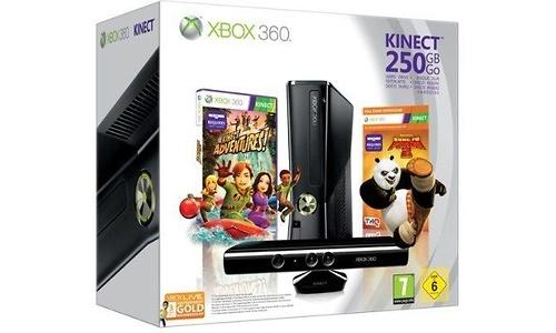 Microsoft Xbox 360 250GB Kinect + Kung Fu Panda 2