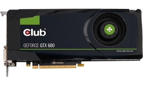 Club 3D GeForce GTX 680 2GB