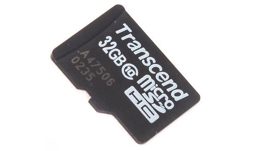 Transcend MicroSDHC Class 10 32GB + Adapter