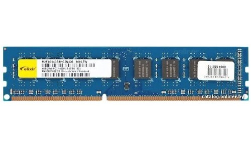 Elixir 4GB DDR3-1333 CL9