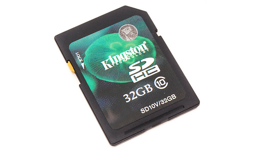 Kingston SDHC Class 10 32GB