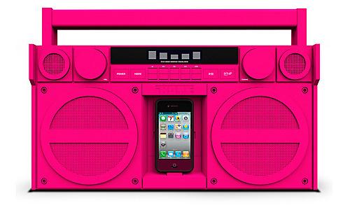 iHome iP4 Pink