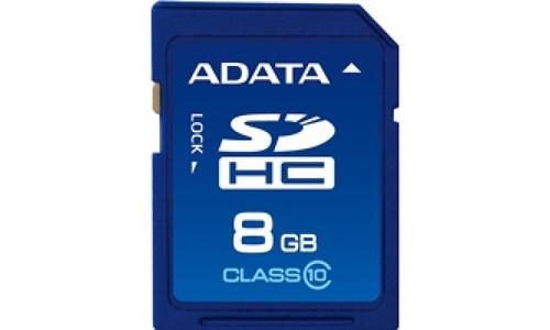 Adata SDHC Class 10 8GB
