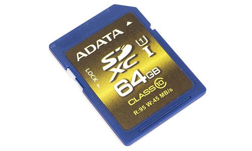 Adata SDXC Premier Pro UHS-I 64GB