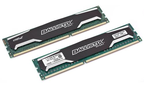 Crucial Ballistix Sport 16GB DDR3-1600 CL9 quad kit