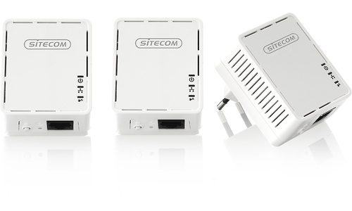 Sitecom LN-540 Mini Homeplug Triple kit