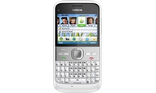 Nokia E5-00 White