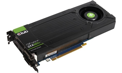 Club 3D GeForce GTX 660 Ti 2GB