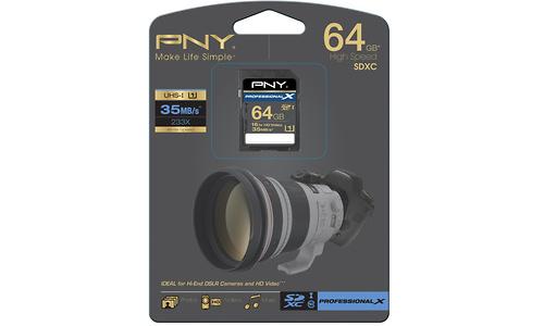 PNY SDXC Professional X UHS-I 64GB