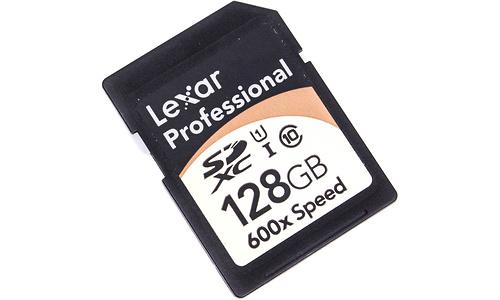 Lexar SDXC Professional 600x UHS-I 128GB