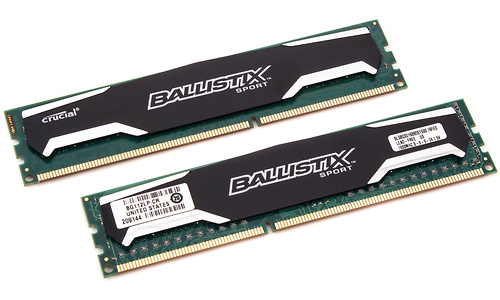 Crucial Ballistix Sport 16GB DDR3-1600 CL9 kit