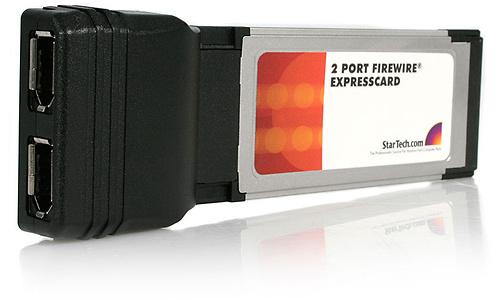StarTech.com ExpressCard 1394 FireWire 2-port