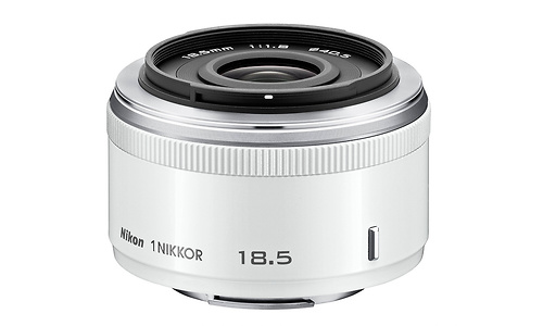 Nikon 1 18.5mm f/1.8 White