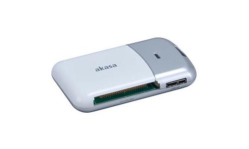 Akasa USB 3.0 6-port Cardreader Silver