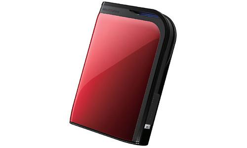 Buffalo MiniStation Extreme 500GB Red
