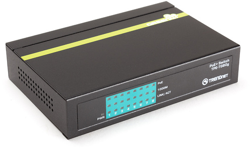Trendnet 8-port Gigabit GREENnet PoE+ Switch (TPE-TG80g)