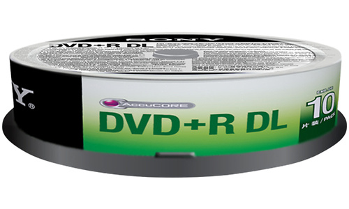 Sony DVD+R DL 10pk Spindle