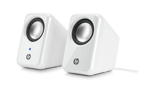 HP Multimedia Speakers White