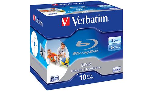 Verbatim BD-R SL Printable 6x 10pk Jewel Case