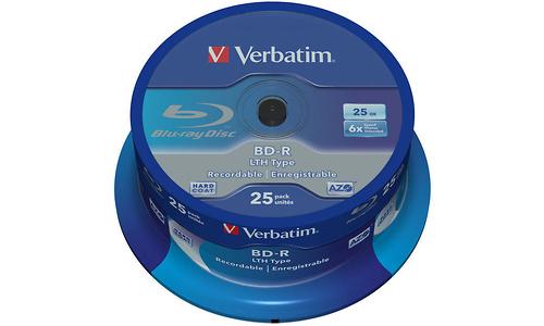Verbatim BD-R LTH 6x 25pk Spindle