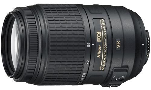 Nikon AF-S 55-300mm f/4,5-5,6 DX VR