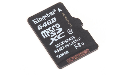 Kingston MicroSDXC Class 10 64GB