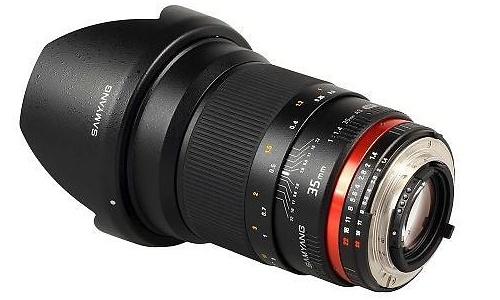 Samyang 35mm f/1.4 Aspherical IF UMC (Pentax)