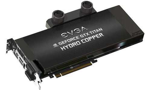 EVGA GeForce GTX Titan SC Hydro Copper