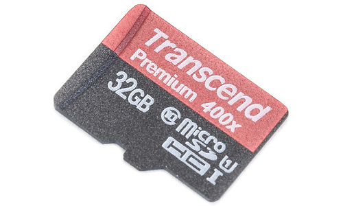 Transcend MicroSDHC Premium Class 10 32GB + Adapter
