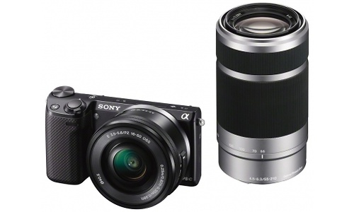 Sony NEX-5R 16-50 + 55-210 kit Black