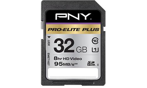 PNY SDHC Pro-Elite Plus 32GB