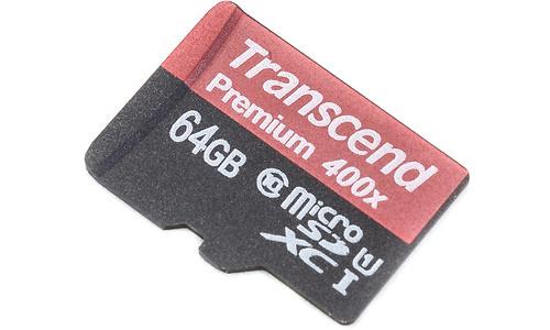 Transcend MicroSDXC Class 10 64GB