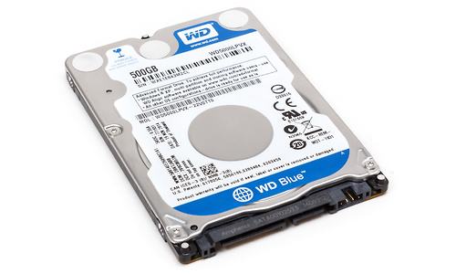 Western Digital Scorpio Blue 500GB (SATA3)