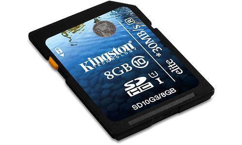 Kingston SDHC Class 10 USH-I Elite 8GB