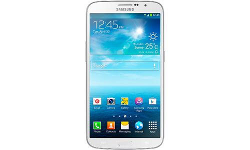 Samsung Galaxy Mega White