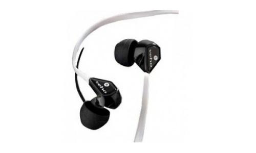 Veho 360 Noise Isolating Earphones Black/White