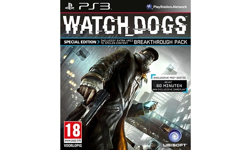 Watch Dogs Special Edition (PlayStation 3)