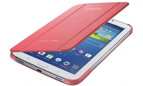 "Samsung Book Cover Pink (Galaxy Tab3 7"")"