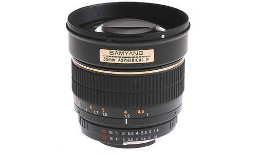 Samyang 85mm f/1.4 AS UMC (Samsung)