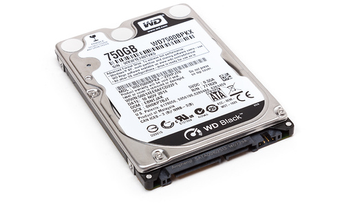 Western Digital Scorpio Black 750GB (SATA3)